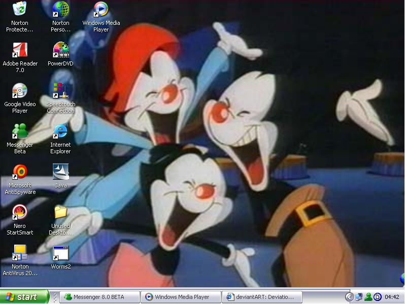 Animaniacs Desktop by anniemaniac
