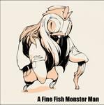 A Fine Fish Monster Man Sheet
