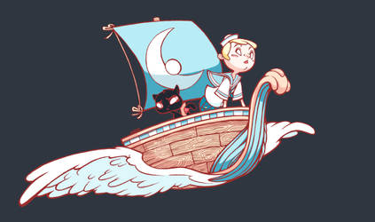 Sail Boy by OracularDream