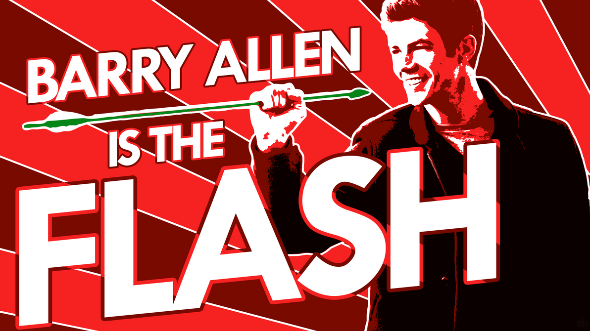 BARRY ALLEN IS THE FLASH