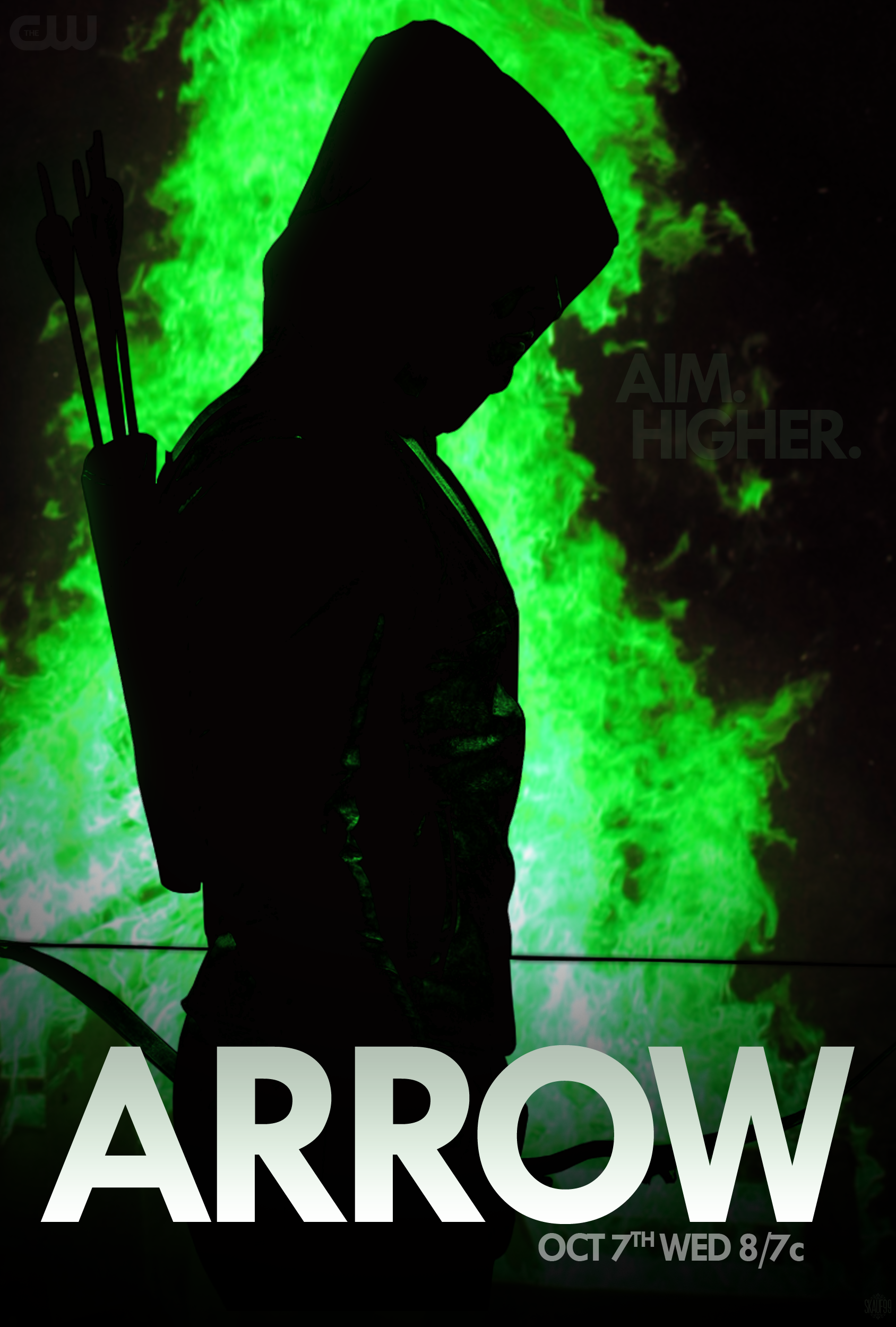 CW ARROW SEASON 4 PROMO - MOVIE POSTER by skauf99 on DeviantArt Green Arrow And Speedy Wallpaper