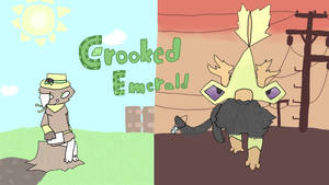 New YT banner! by CrookedEmerald