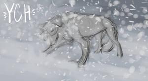 YCH| wolf |closed