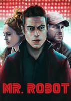 Mr Robot by JackDanielsCat