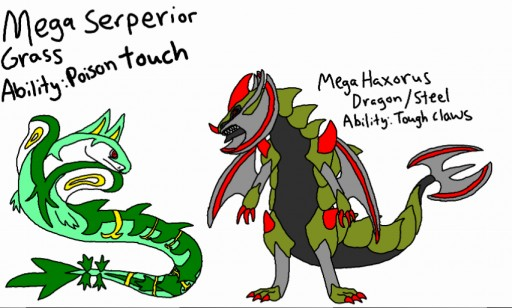 Mega Evolution Serperior