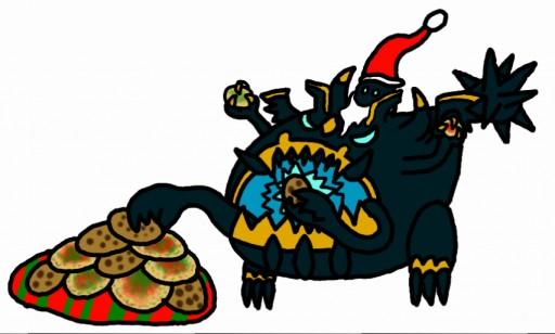 Santa Claws by monkfishlover