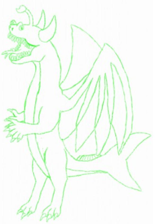 Lophius Paintie Sketch by monkfishlover