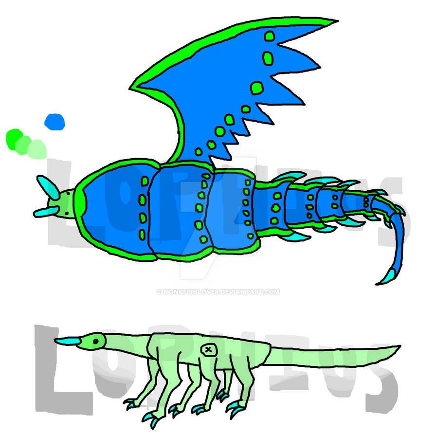 Lycidra the Trilobite Beetle Dragon