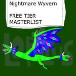 Free Tier Masterlist (OPEN)