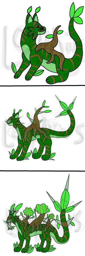 Fakemon Grass Cats Remake