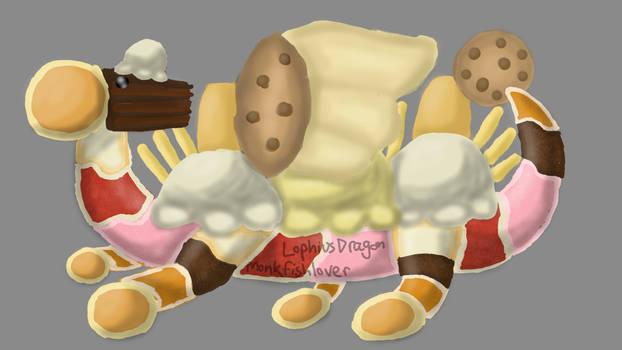 ice cream cake etc Dessert Dragon Contest entry