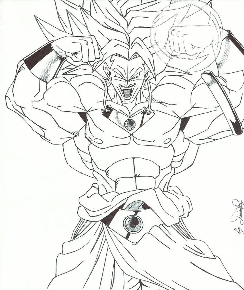 Desenhos Para Colorir Dragon Ball Z Gt E Af