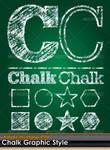 Chalk Board Illustrator Style
