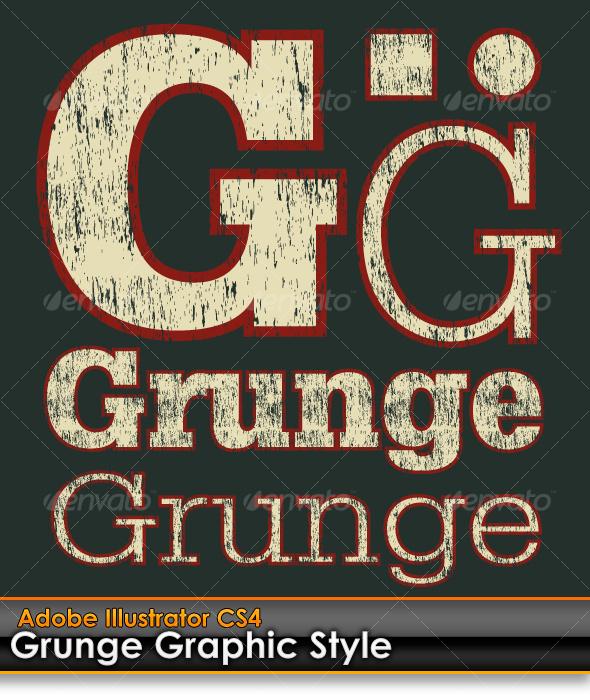 Grunge Illustrator Style by gruberdesigns