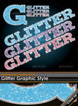 Glitter Illustrator Style