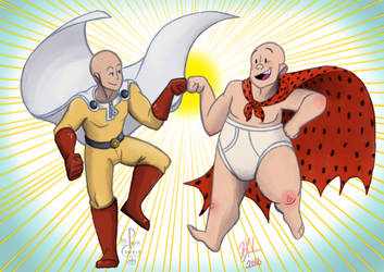 Hairless Heroes Unite! by 0ArmoredSoul0