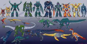 [Colored] Soundbluster SG Dinobots