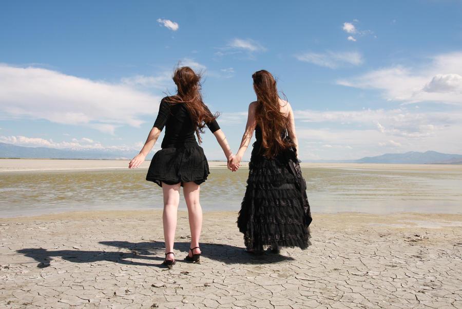 Desert Duo 01 by Lynnwest-Stock
