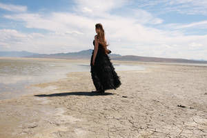 Black Gown 16 by Lynnwest-Stock