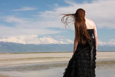 Black Gown 17 by Lynnwest-Stock