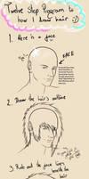 Hair Tutorial :D by RiotEye