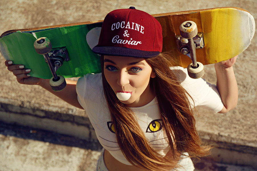 Sk8er girl by Mijagiphotography