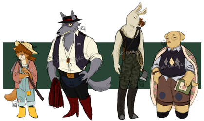 anthro adopt batch 2 - 2/4 OPEN (PRICES REDUCED) by kat-eunhyeo
