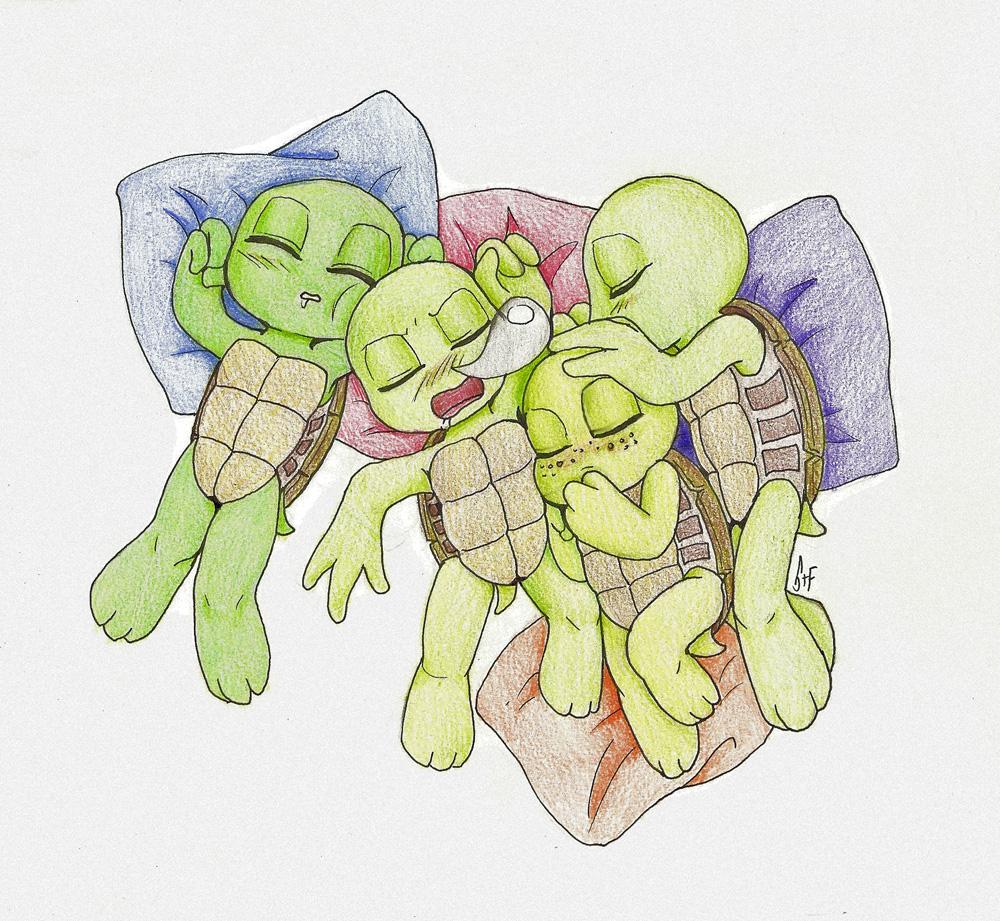 Baby Mutant Ninja Turtles by KuramaLoverBunny on DeviantArt