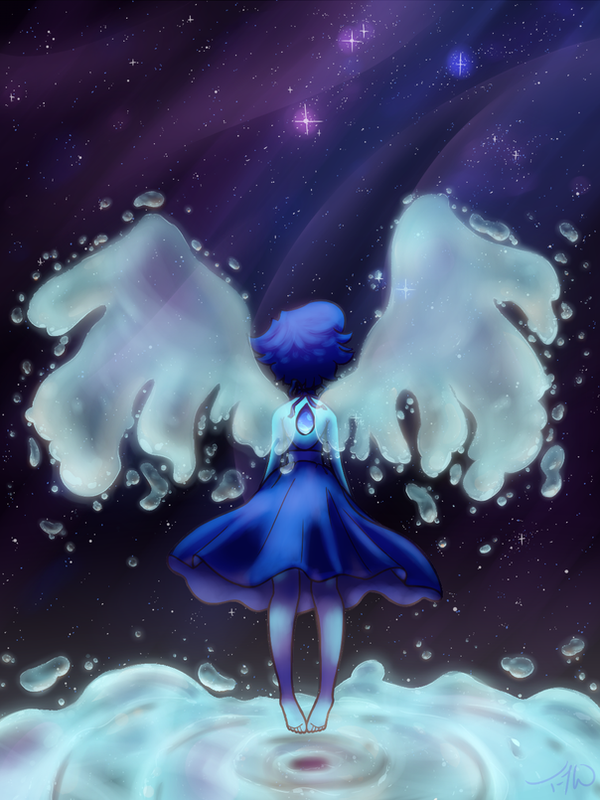 This took soooooooooo long but it was sooooooooo worth it ^u^ This is a redraw of The Lost Gem ~Steven Universe