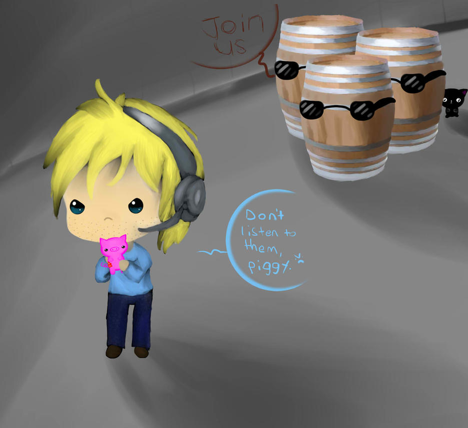Stupid Barrels by a-crazy-spycrab
