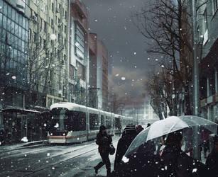.: dusluyorum bu kenti :. by hayal25