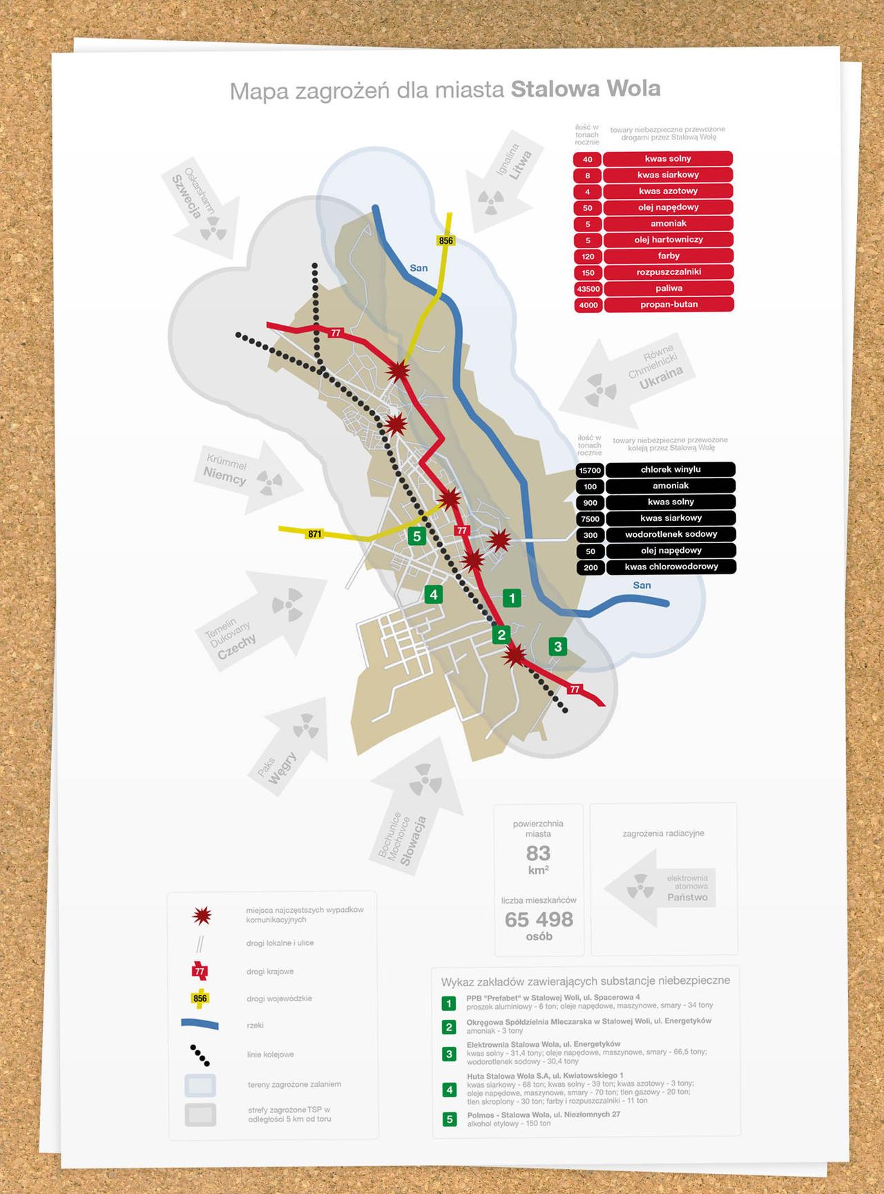 Danger's map - Stalowa Wola by bisek0