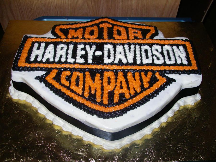 harley davidson 1200 cake ideas and designs