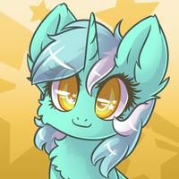 Commission - Lyra Headshot by Sapphfyr