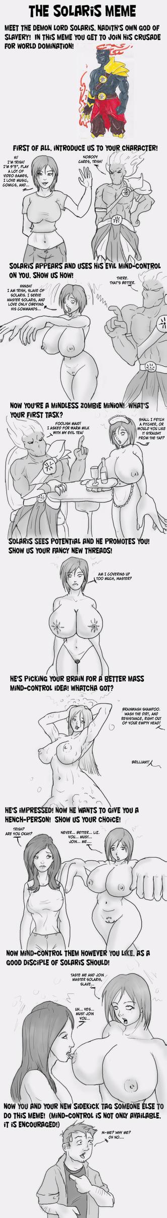 Trish Solaris Meme by Trishbot