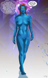 Mystique Mind Controlled by Trishbot