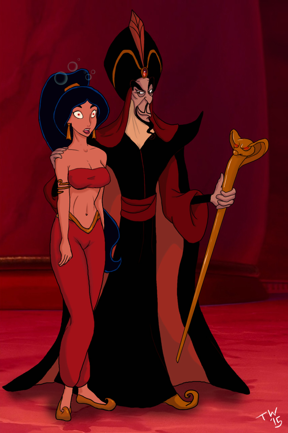 Aladin and friend fuck jasmine disney sam go q - 5 4