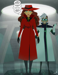 Where's the Mind of Carmen Sandiego? by Trishbot