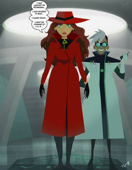 Where's the Mind of Carmen Sandiego?