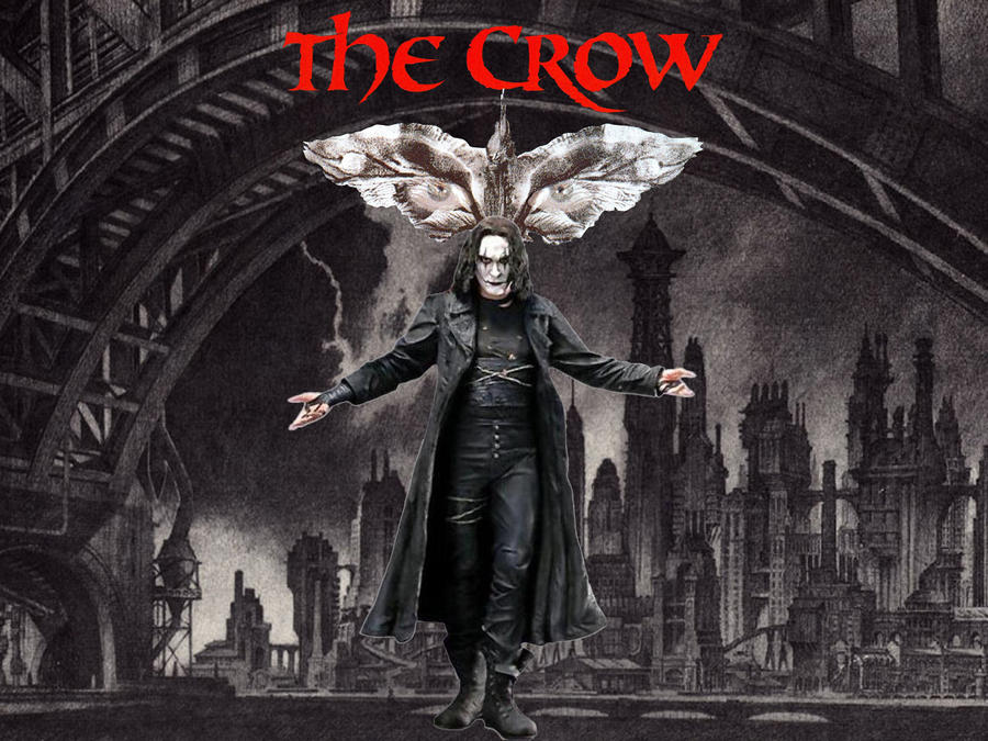 The Crow Wallpaper By SWFan1977