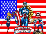 American Dream wallpaper