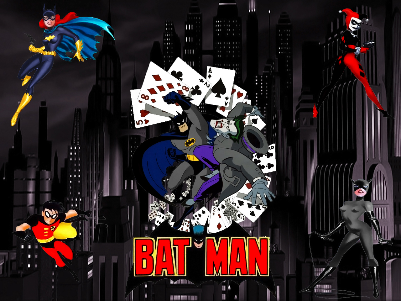 Batman Animated wallpaper by SWFan1977