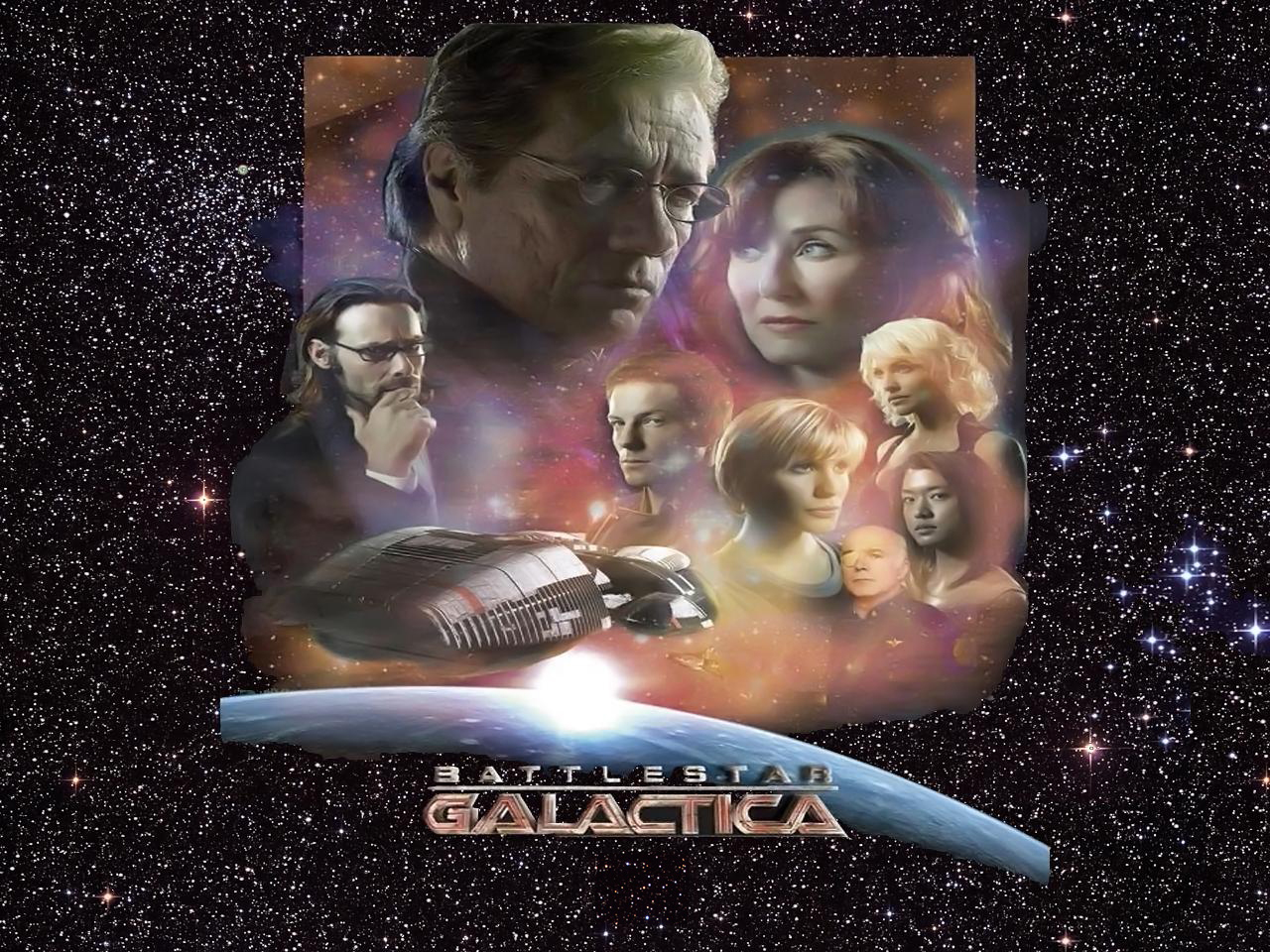 Battlestar Galactica SW wp by SWFan1977