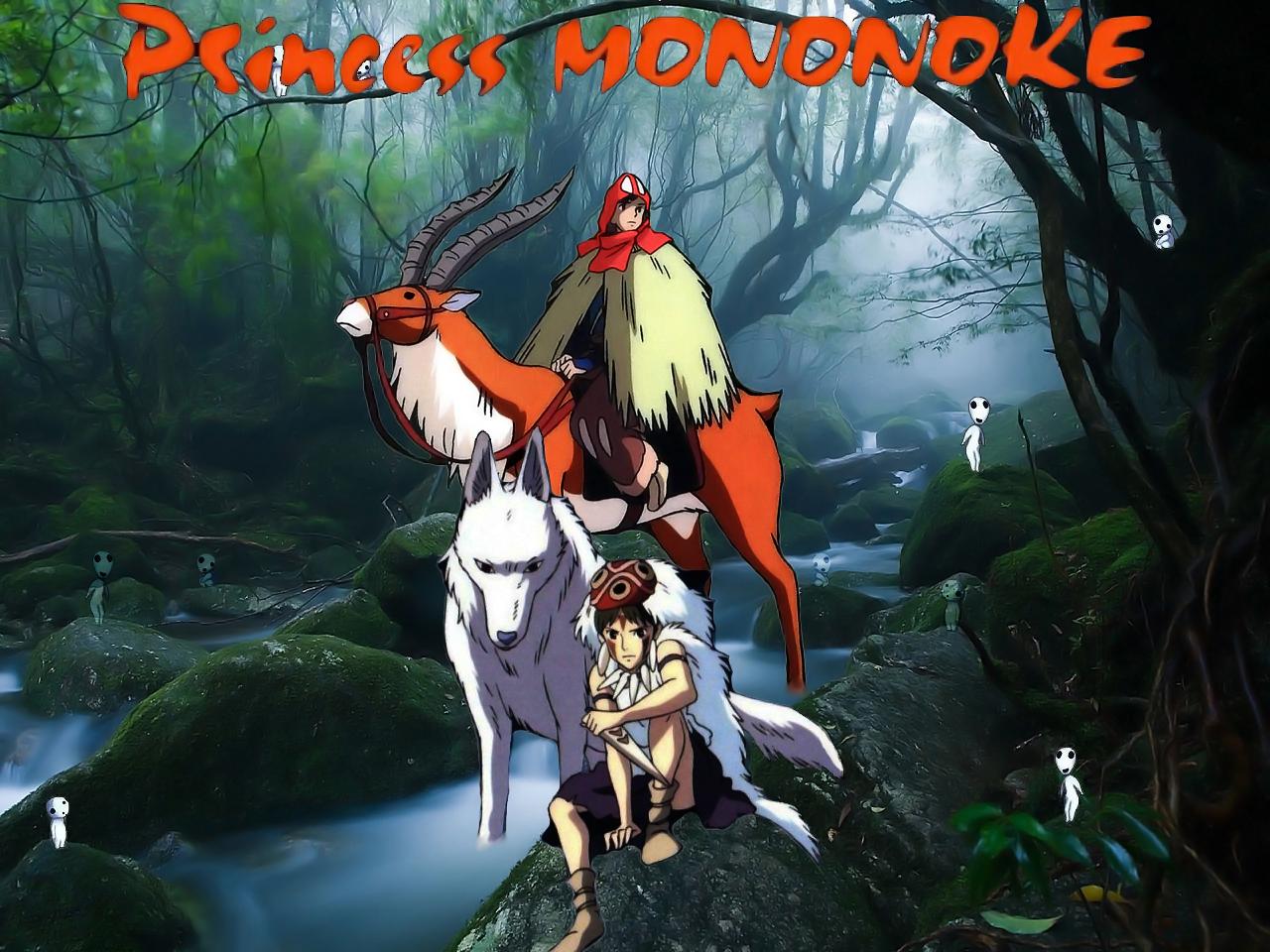 Princess Mononoke Wallpaper By Swfan1977 On Deviantart