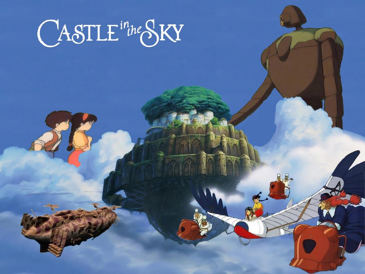 Castle In The Sky Wallpaper By Swfan1977 On Deviantart