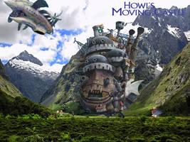 Howl's Moving Castle wallpaper by SWFan1977