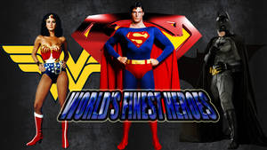 World's Finest Heroes wp