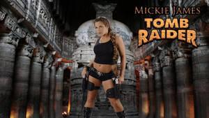 Mickie James Tomb Raider wp