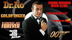 Sean Connery - 007 wp by SWFan1977
