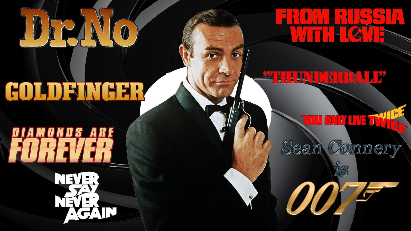 Sean Connery - 007 wp